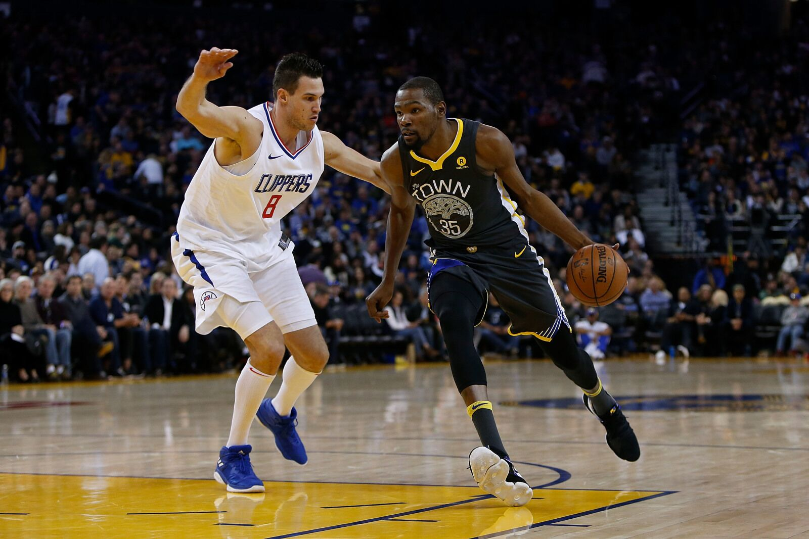 128813133a5 LA Clippers  Series against Golden State could help recruit Kevin Durant
