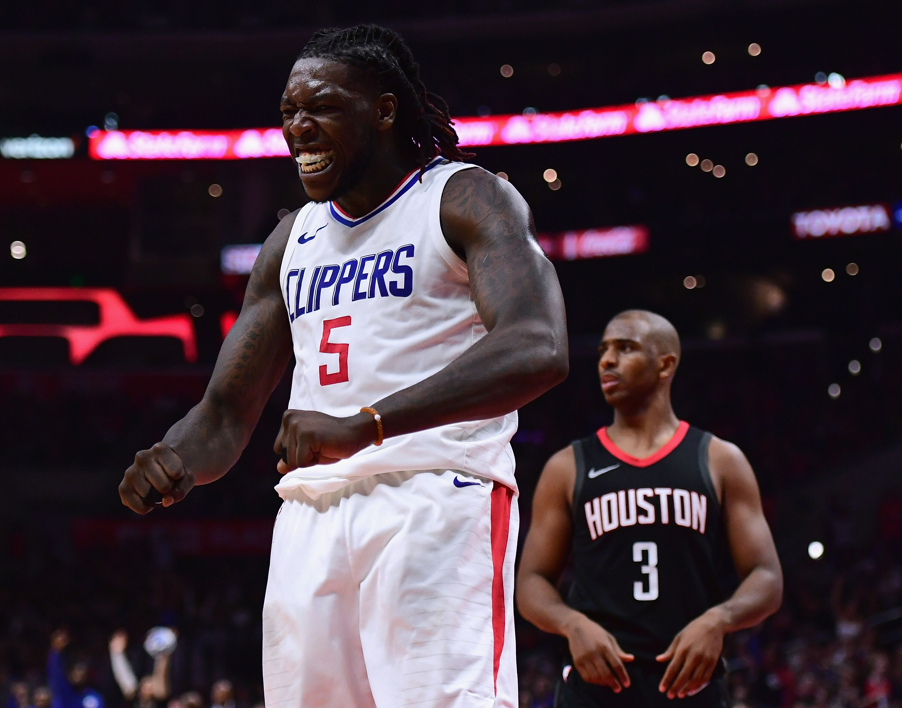 the latest 633b6 dbc4a Los Angeles Clippers appreciate Montrezl Harrell both on and ...