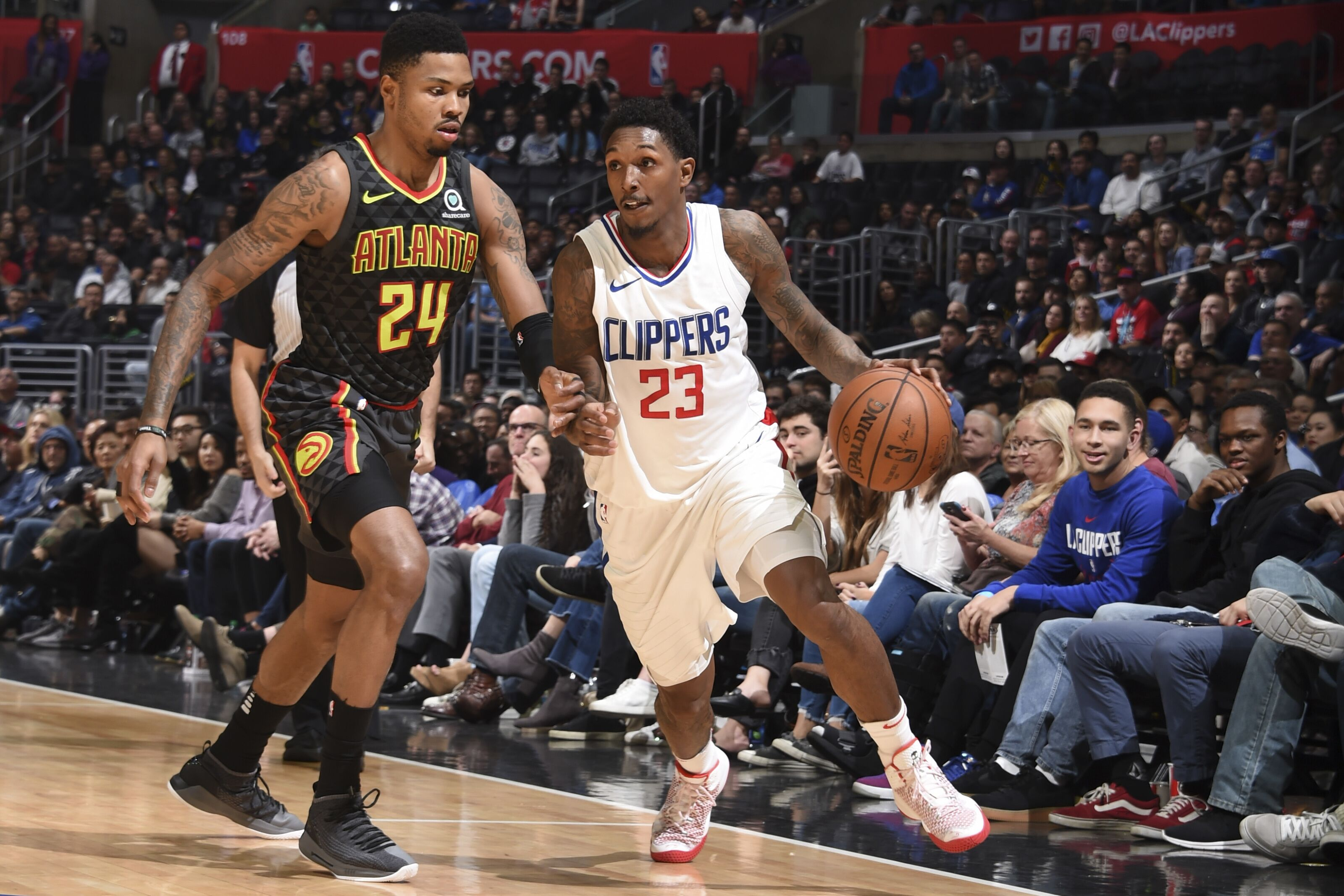 Los Angeles Clippers: Lou Williams breaking ankles
