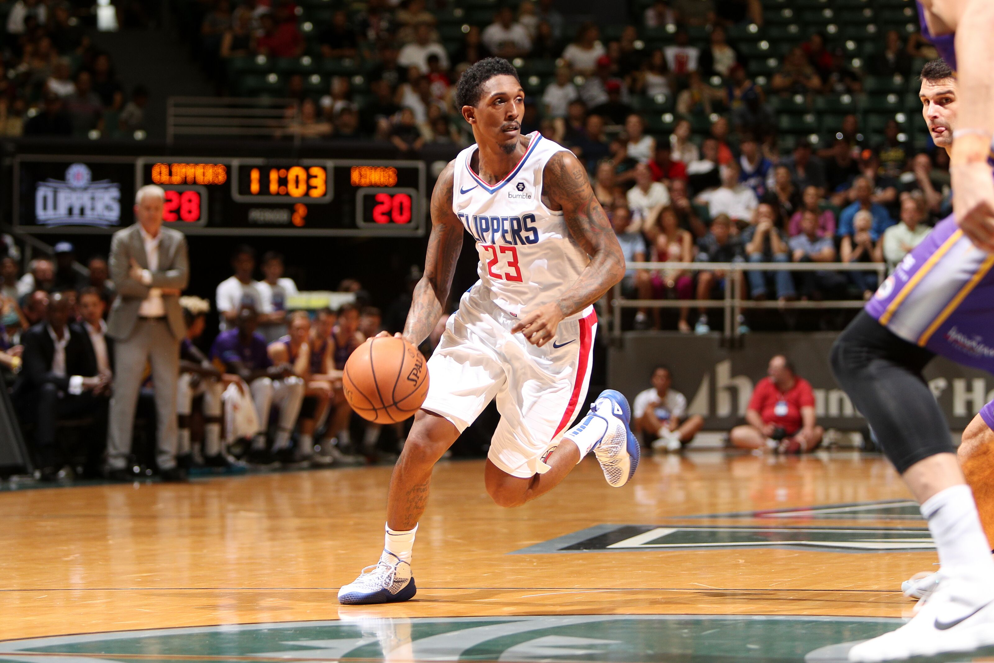 LA Clippers  Lou Williams makes history with 10 a5d73381d