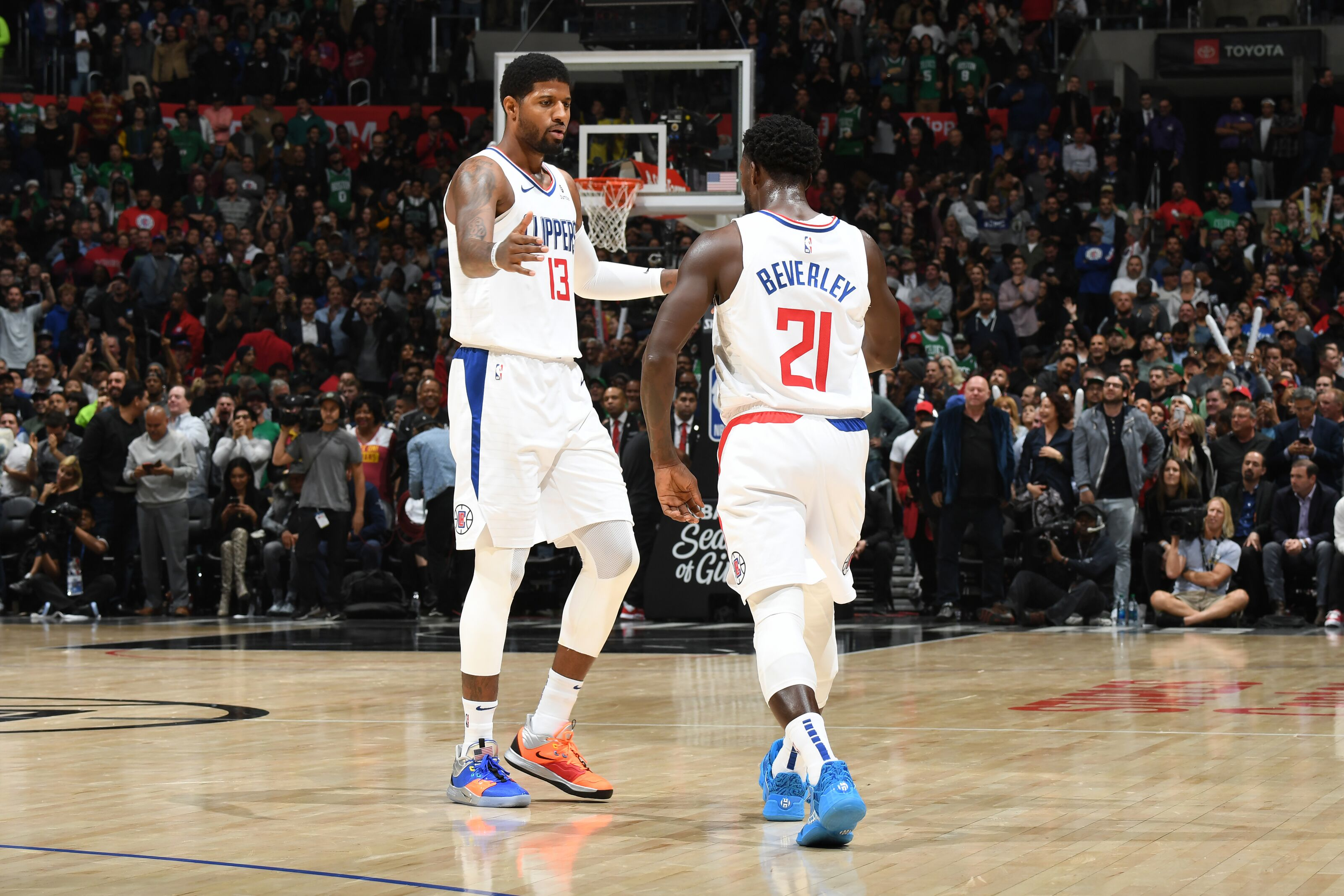 A bromance is building on the Clippers between Patrick Beverley & Paul George