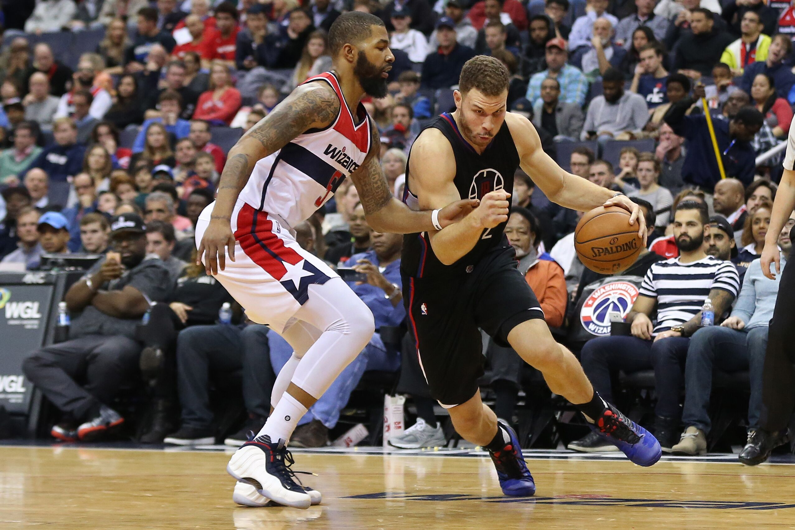 wizards vs clippers - photo #28