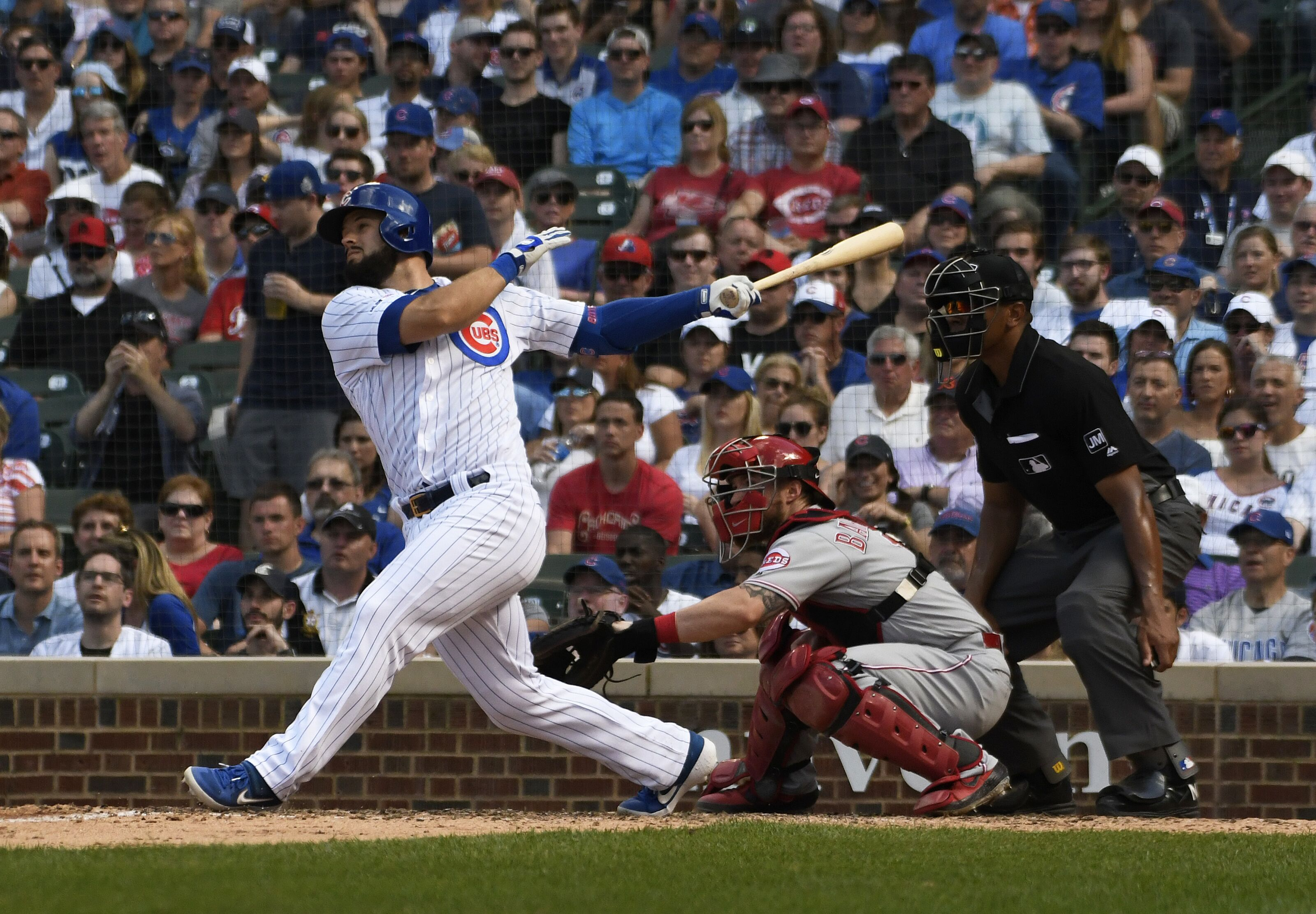 Chicago Cubs: David Bote called up, Derek Holland to the IL