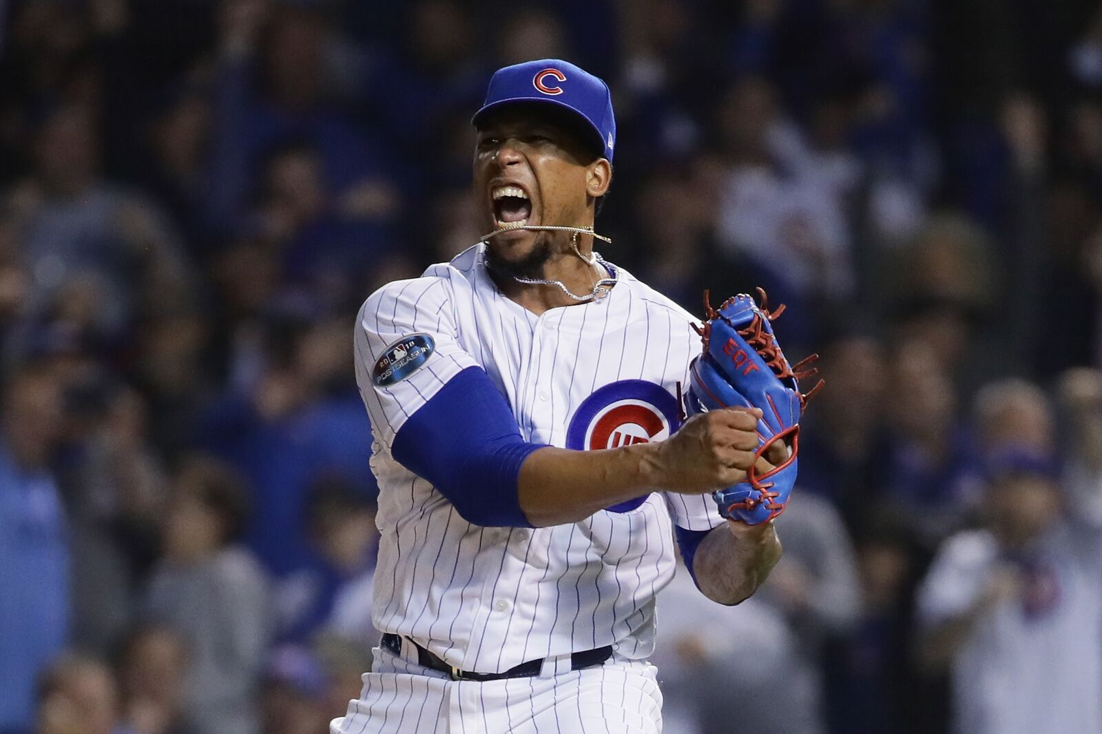 free shipping e774f 79b94 Chicago Cubs: Making the case to sign Pedro Strop long-term