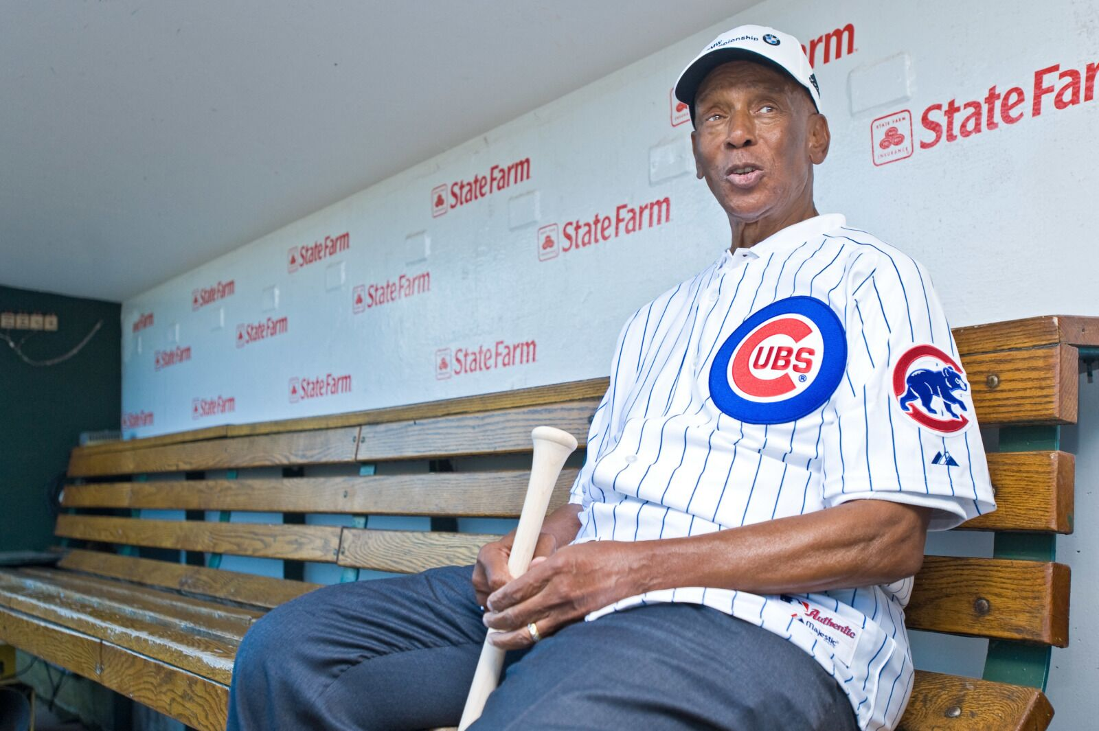 Chicago Cubs: Ernie Banks made his debut 66 years ago