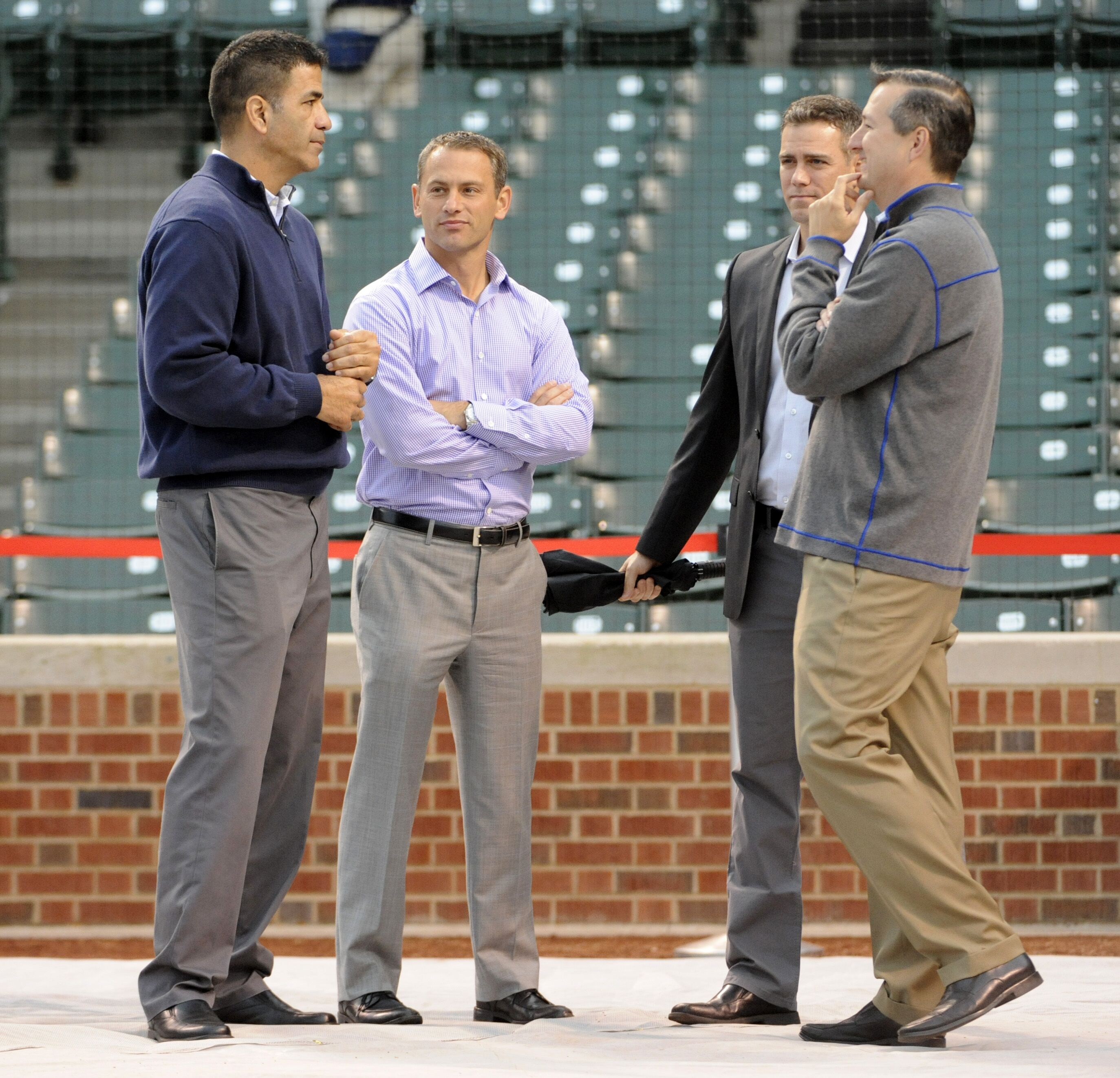 Chicago Cubs: Team needs to target contact and velocity this winter