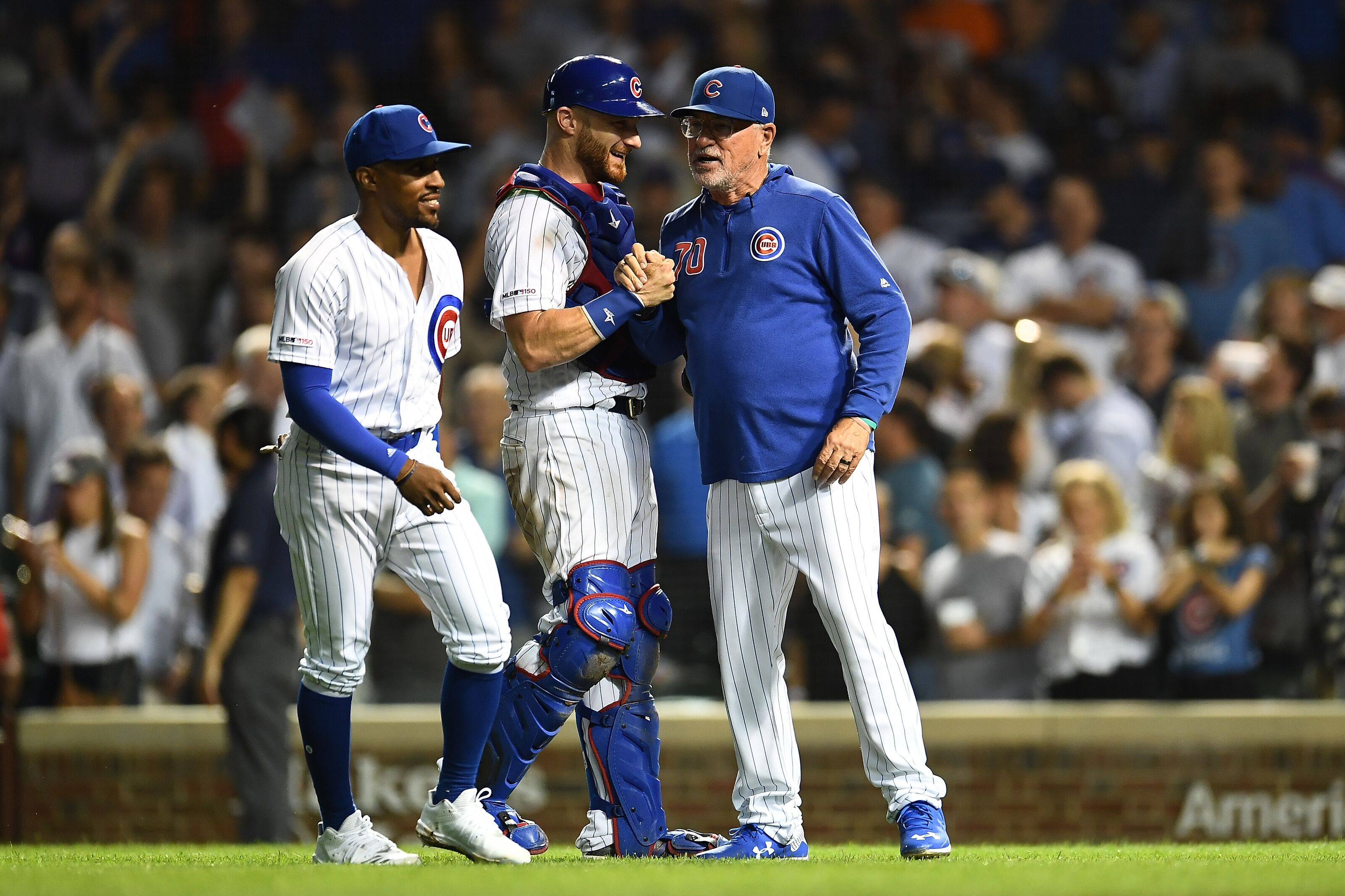 Will the Chicago Cubs carry three catchers into the new campaign?