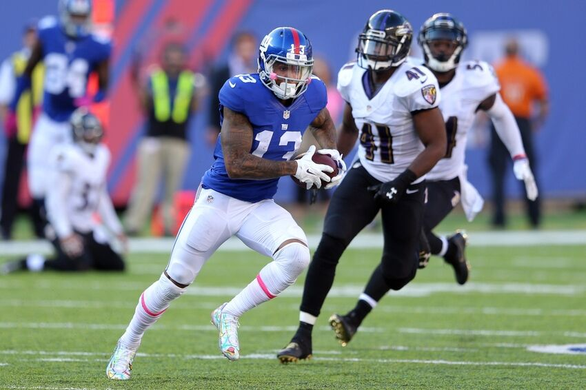 69b4c416bfb Odell Beckham Jr Wears Kirby Cleats In Sunday s Game