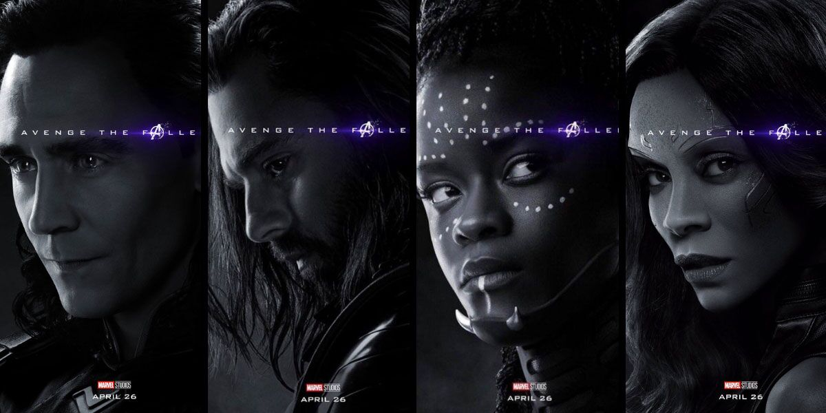 Avengers Endgame New Character Posters Biggest Reveals