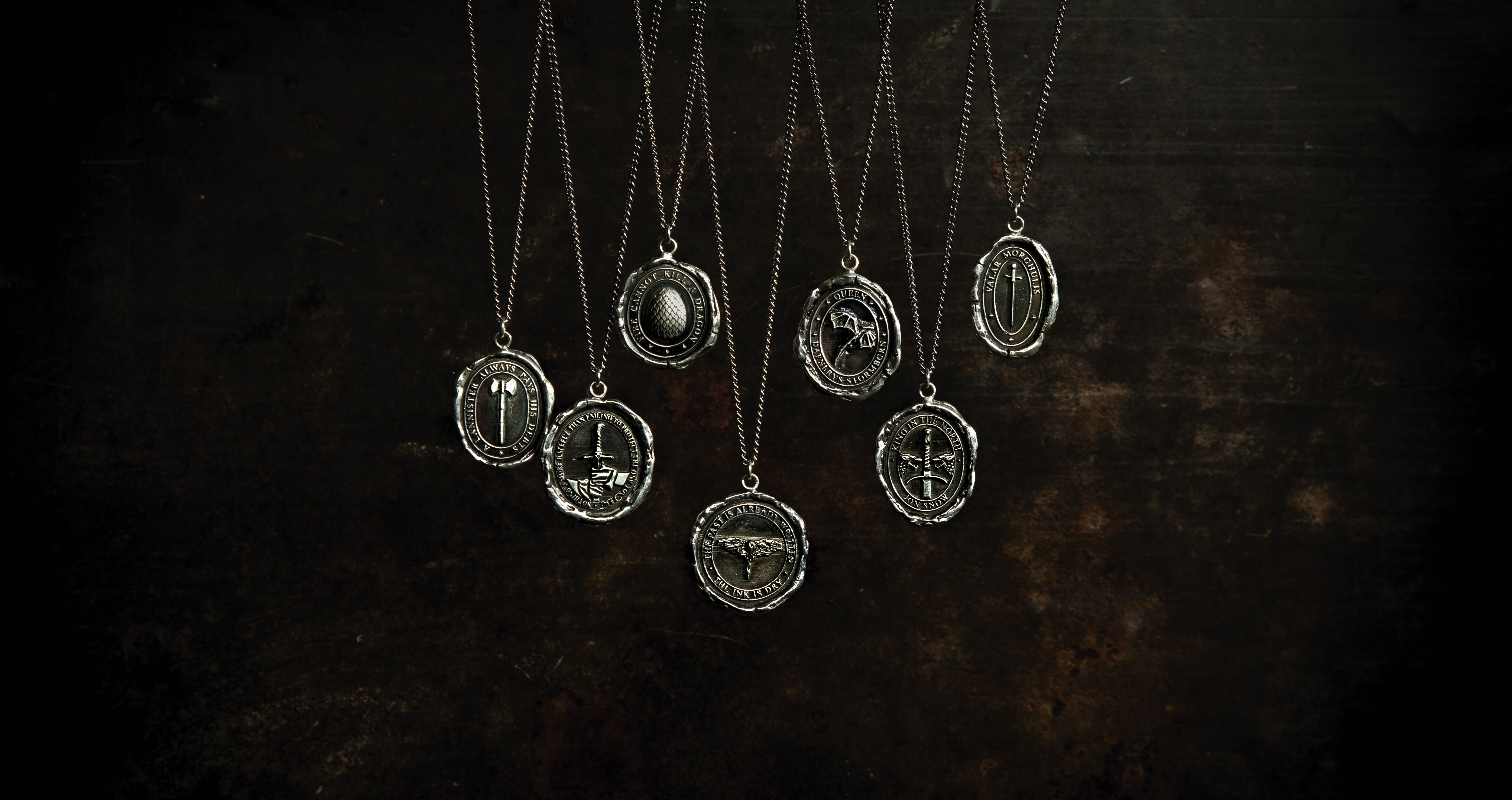 Celebrate Game of Thrones' final season with Pyrrha's new jewelry collection