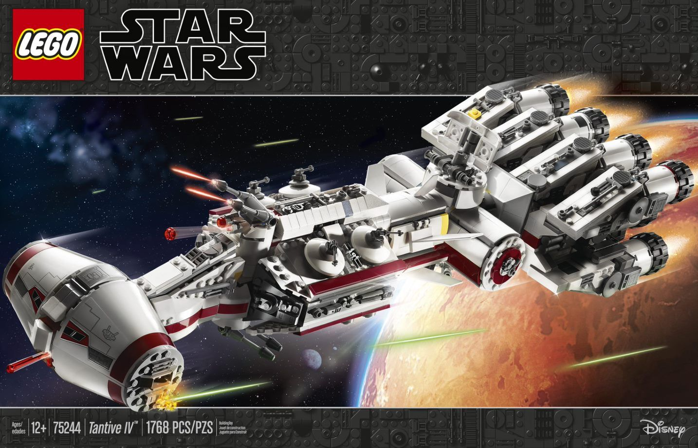 LEGO Star Wars adds another ship to its fleet: The Tantive IV