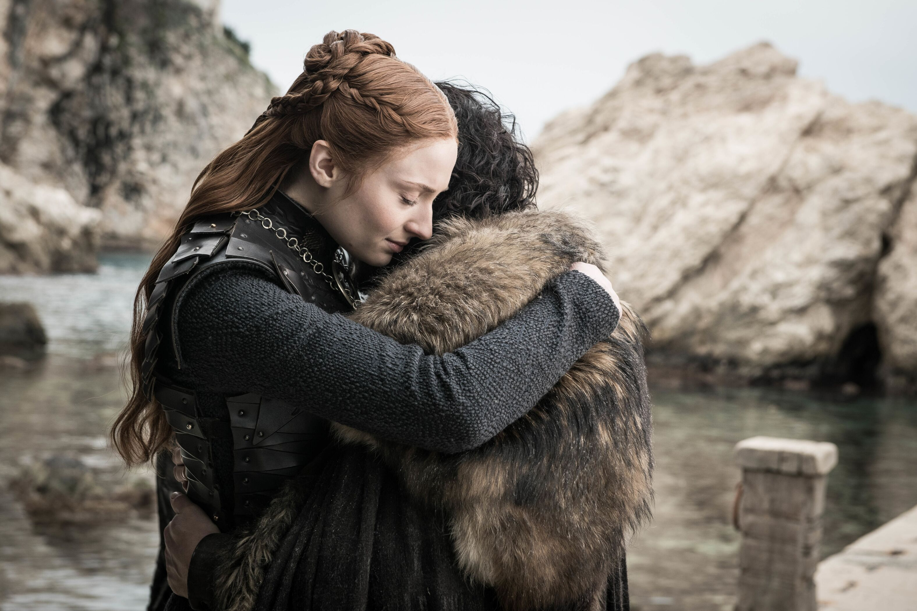 Sophie Turner has the best Game of Thrones BTS photo of them all