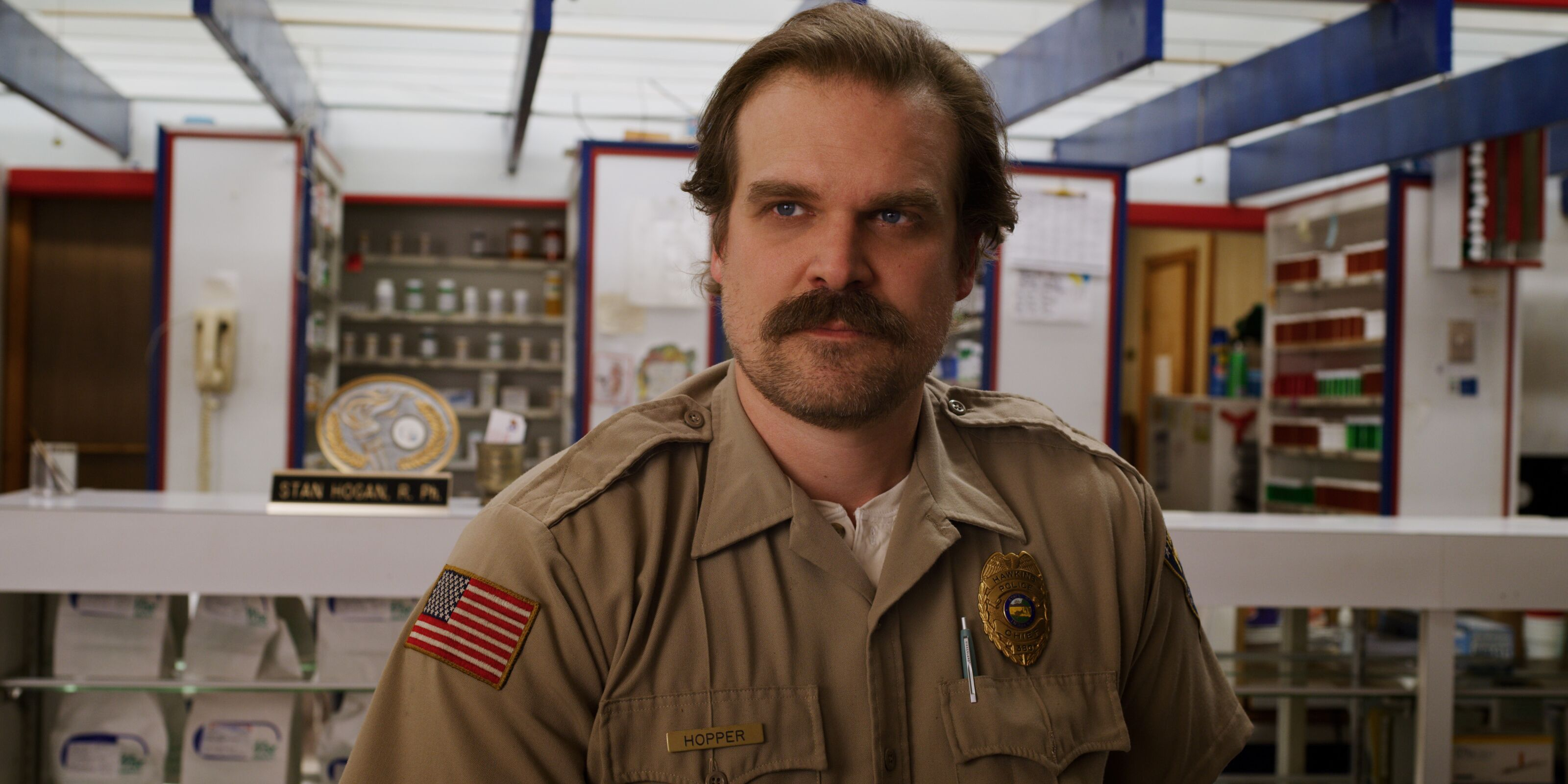 This Stranger Things 4 set photo has fans theorizing about Hopper again