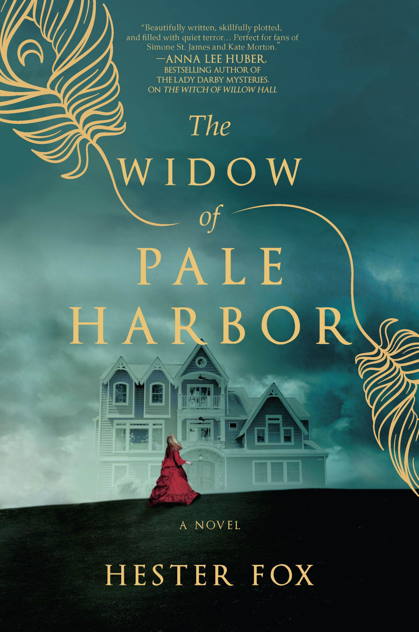 The Widow of Pale Harbor is a spooky Gothic romance for Fall