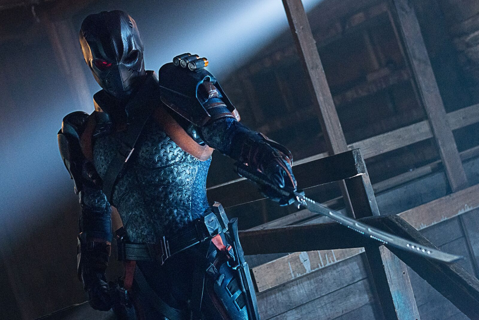 "Titans ""Deathstroke"" review: Clever approach to a cunning antagonist"