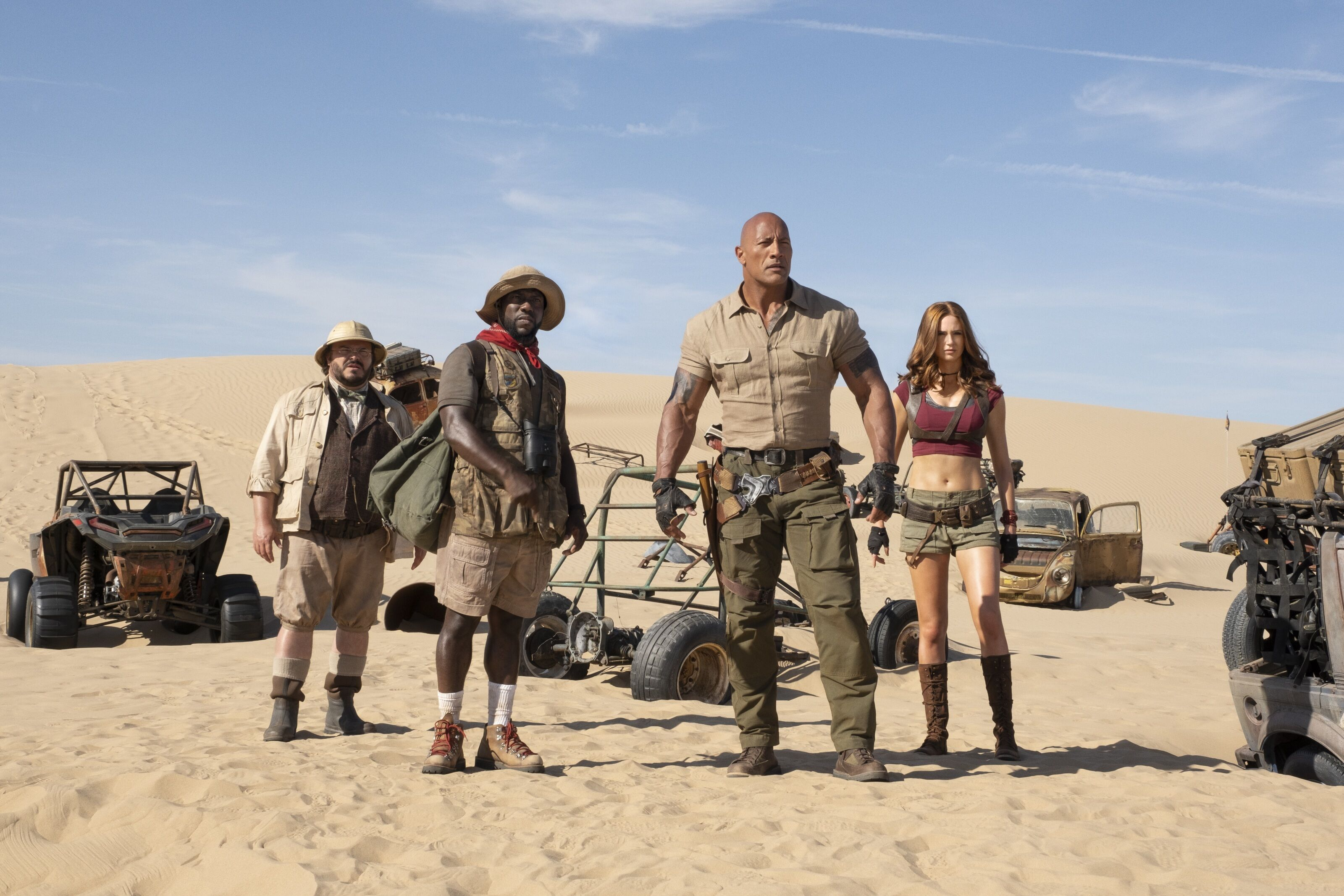 Review: Jumanji: The Next Level's cast makes it a worthy sequel