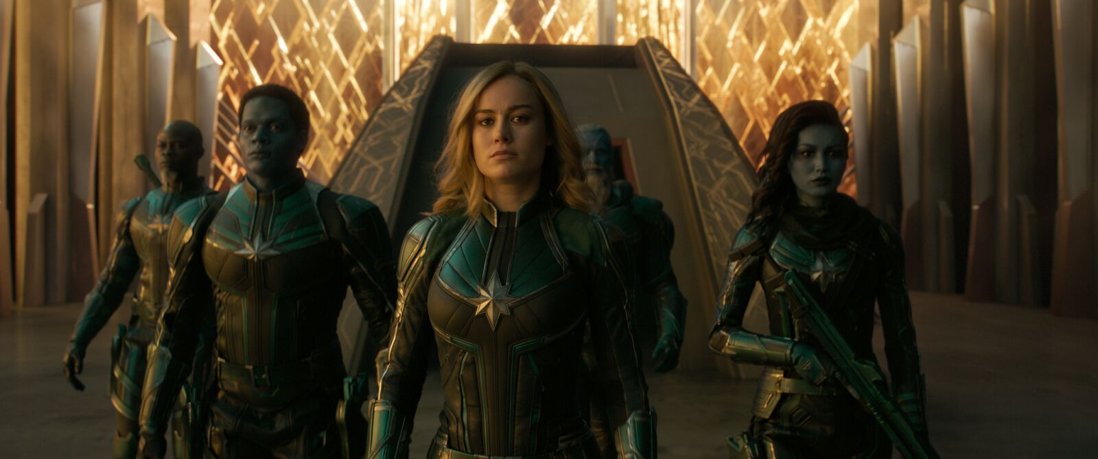 Captain Marvel: Deleted scene shows Carol mentoring young Starforce students