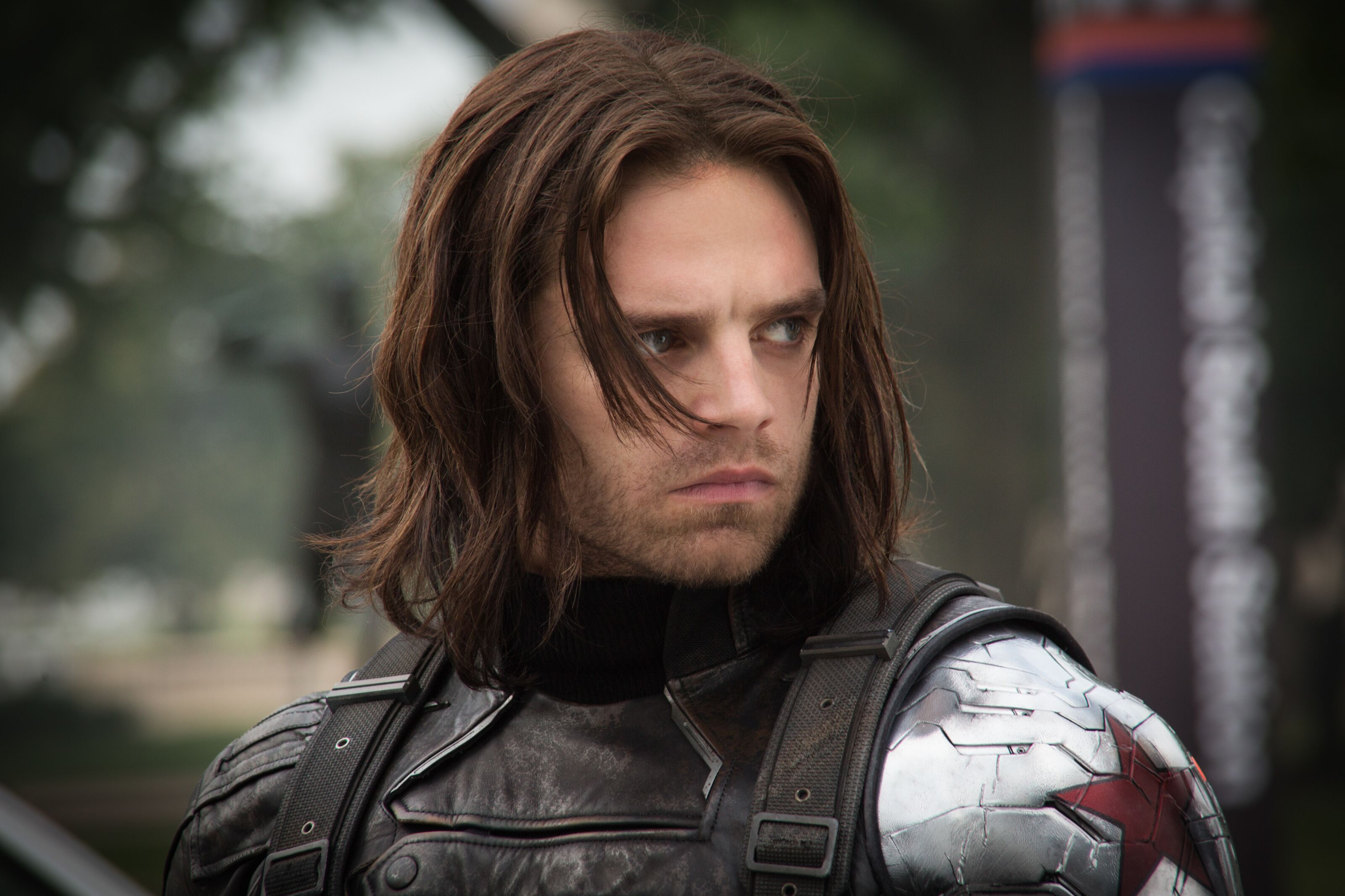 Sebastian Stan suggests a new look might be in store for the Winter Soldier