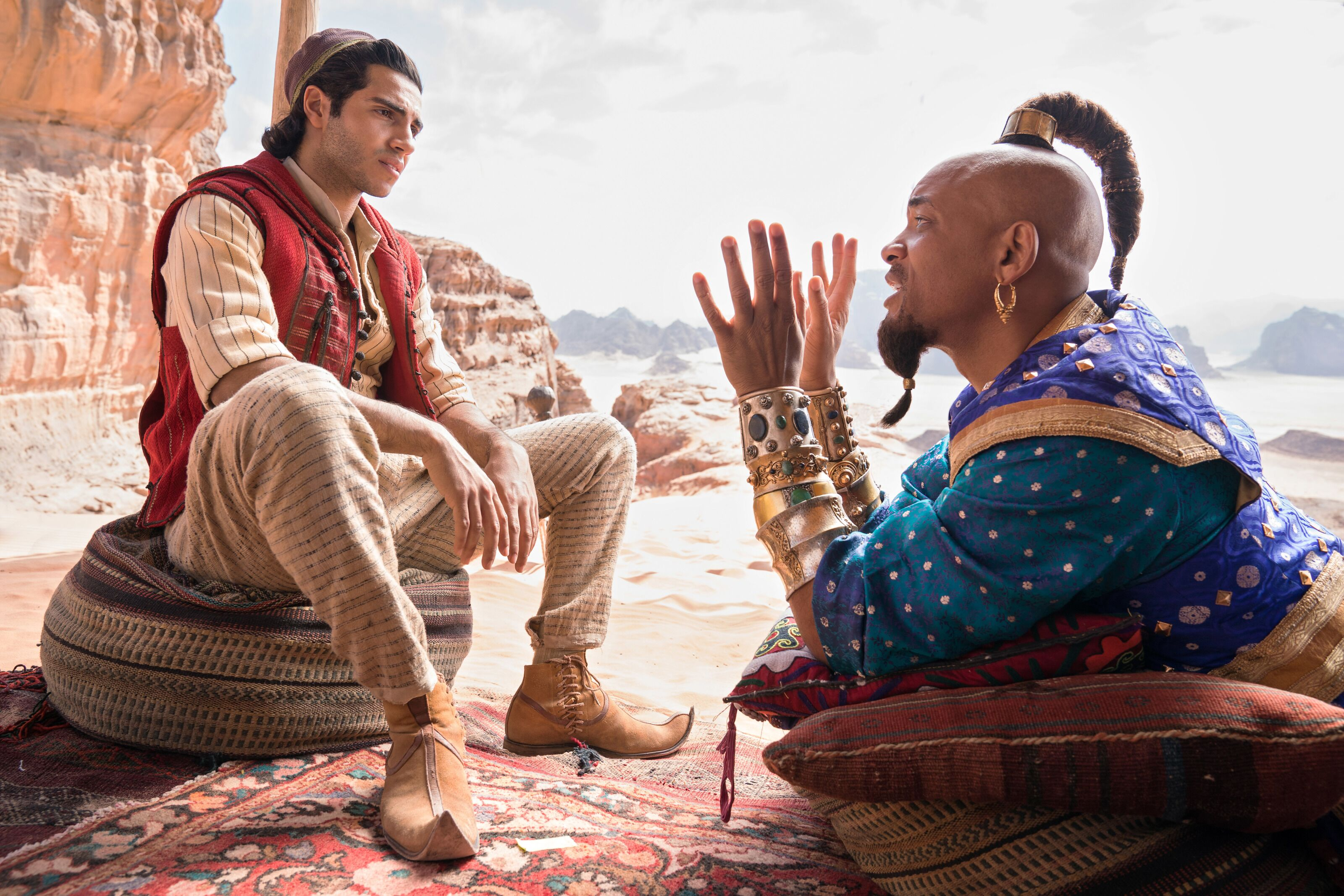 Aladdin is not quite a whole new world, but it'll do