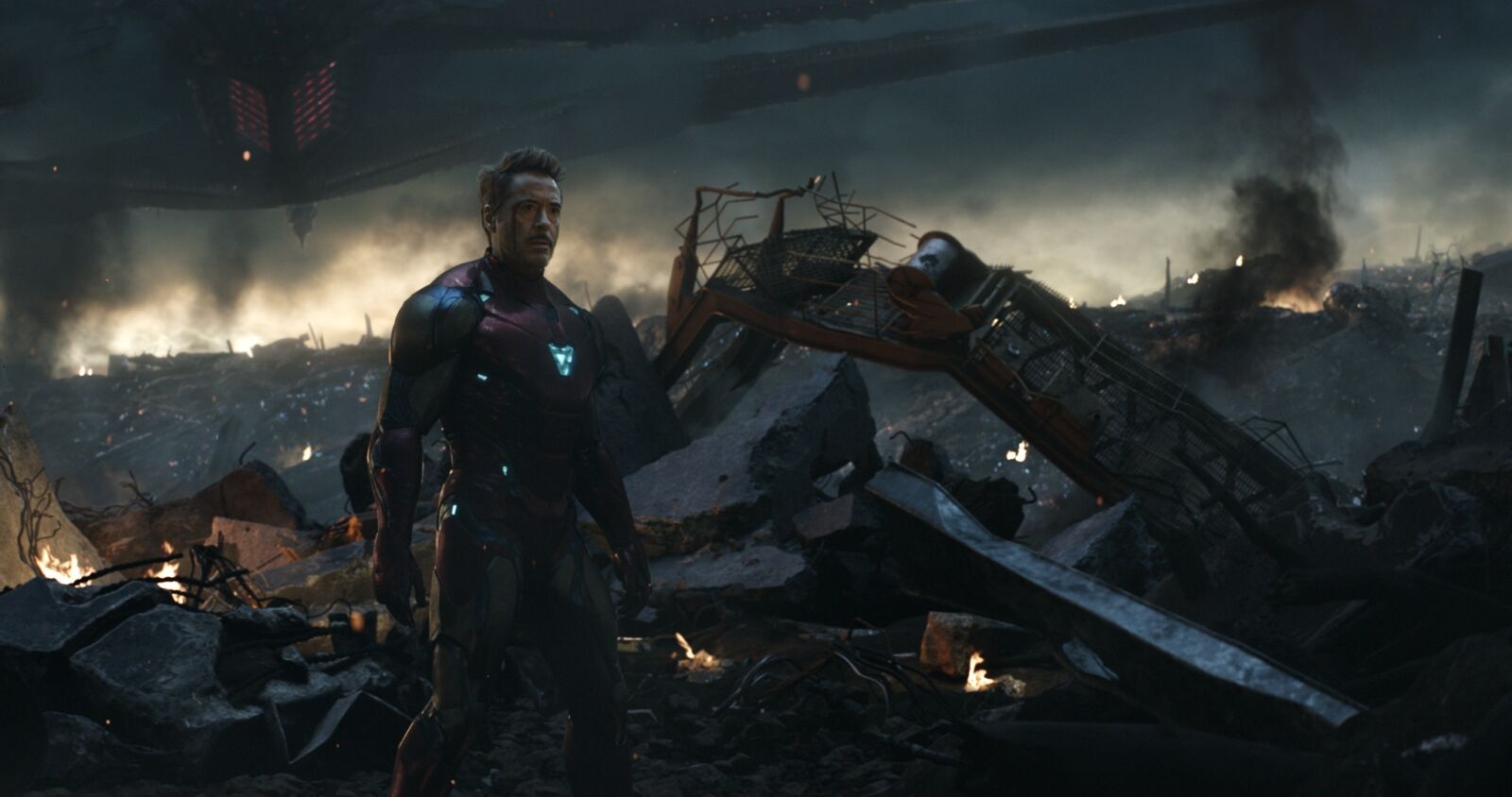 Endgame set clip shows how Iron Man, Doctor Strange's reunion came together