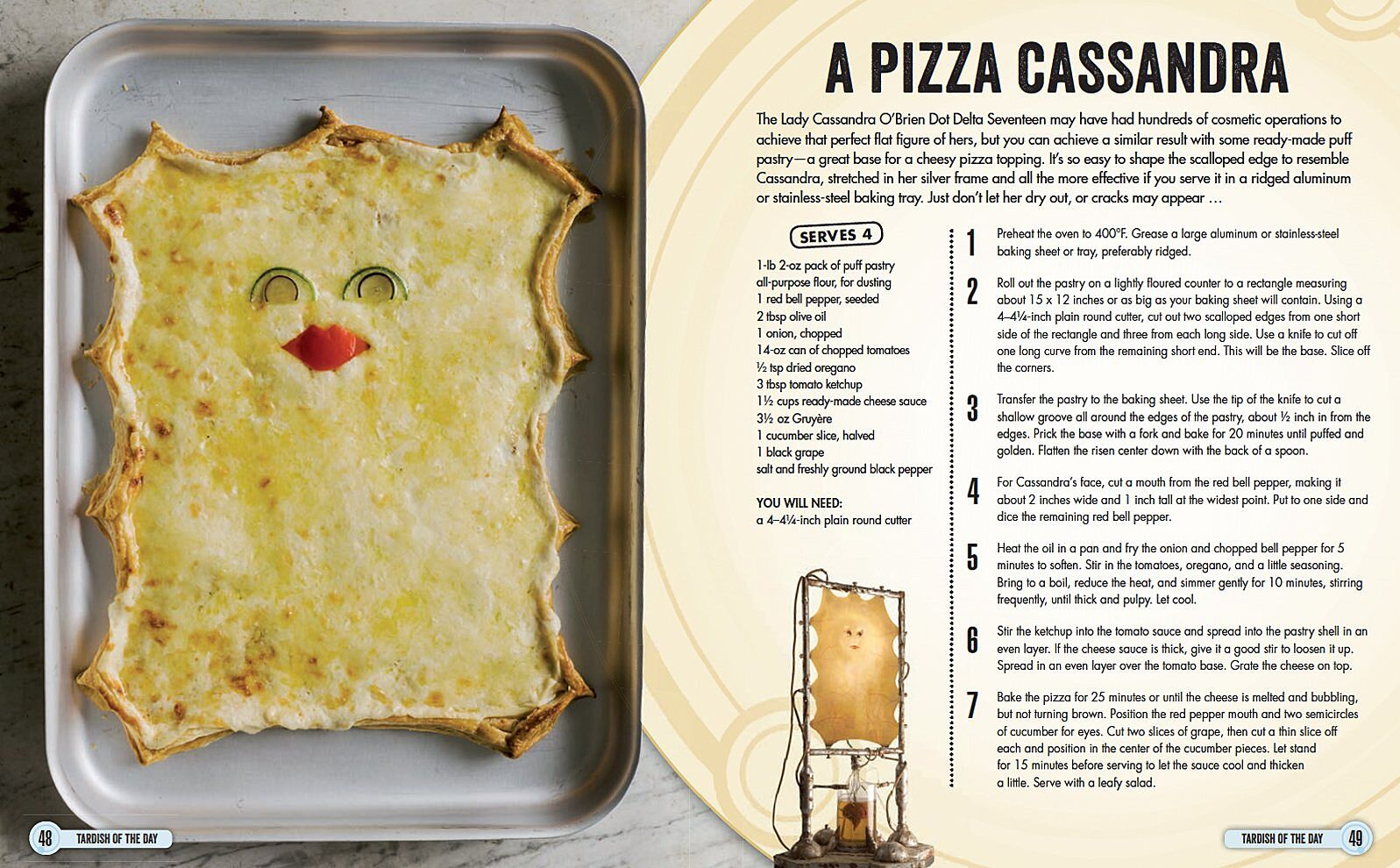 Pizza Cassandra From Doctor Who The Official Cookbook
