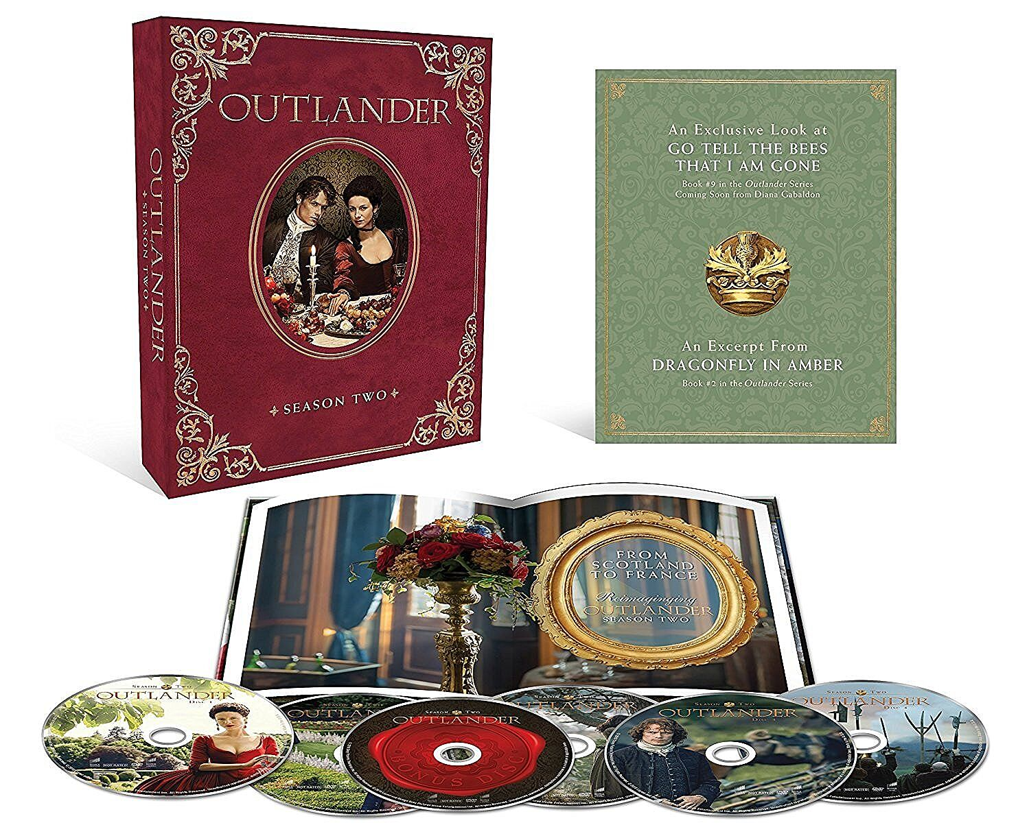 Outlander S2 Collector's Edition DVD/Blu-Ray Has Everything You Want