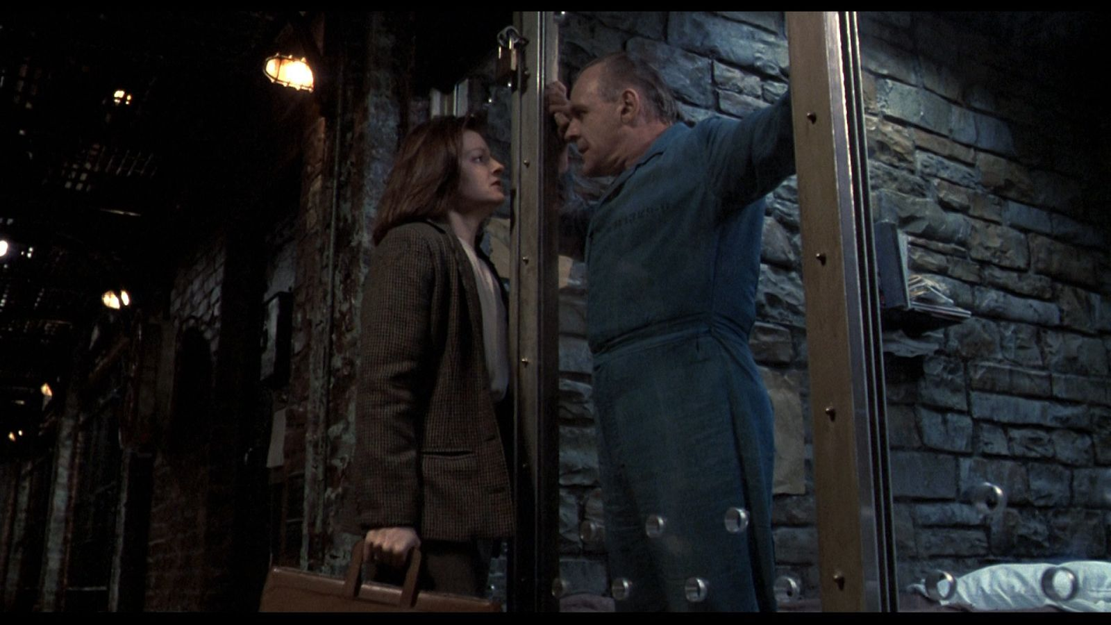 a scene analysis of the first interview in the silence of the lambs