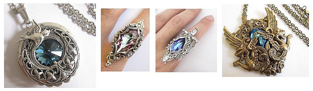 Daedra Jewelry Game Of Thrones Collection Screecaps Via Daedrajewelry On