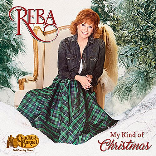 reba mcentire my kind of christmas album cover art courtesy of reba mcentire