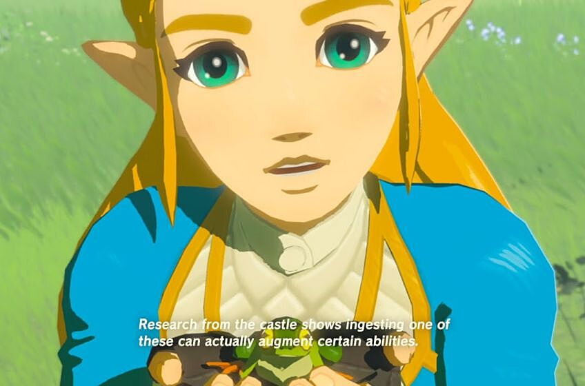 the legend of zelda breath of the wild isn t about link it s about