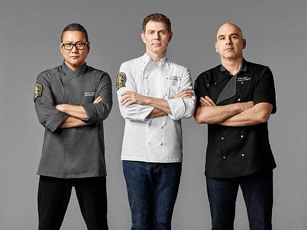Iron chef gauntlet food network s return of a le cuisine for Allez cuisine iron chef