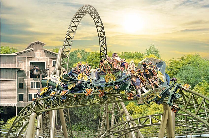 The Time Traveler Roller Coaster