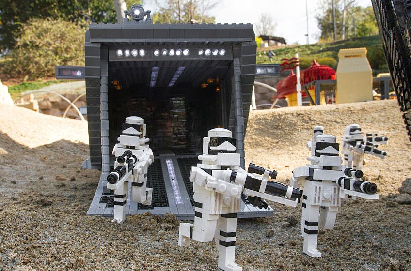Lego Star Wars The Force Awakens Miniland At Legoland Florida