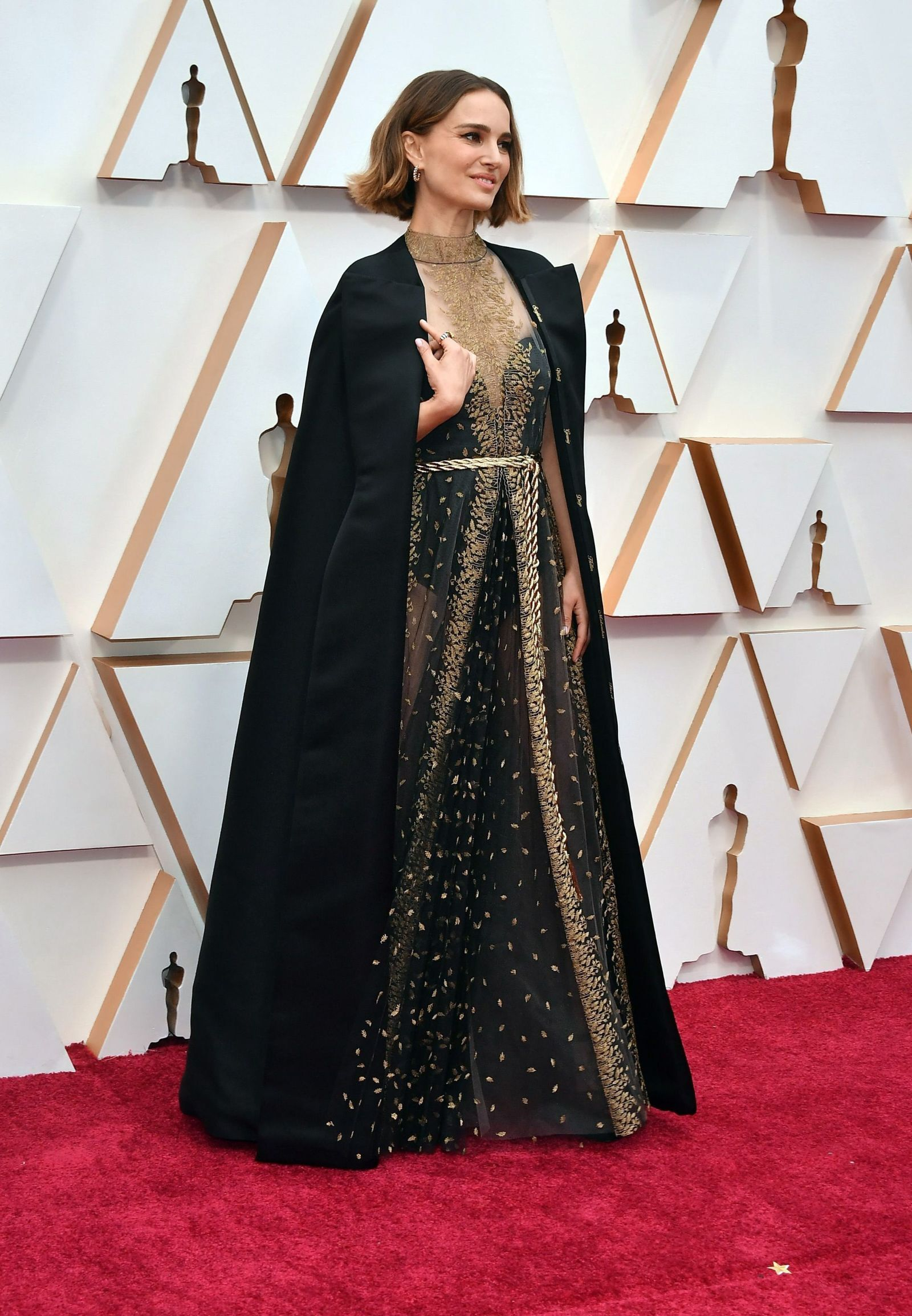Oscars 2020: Natalie Portman takes a stand for women directors with her red carpet look