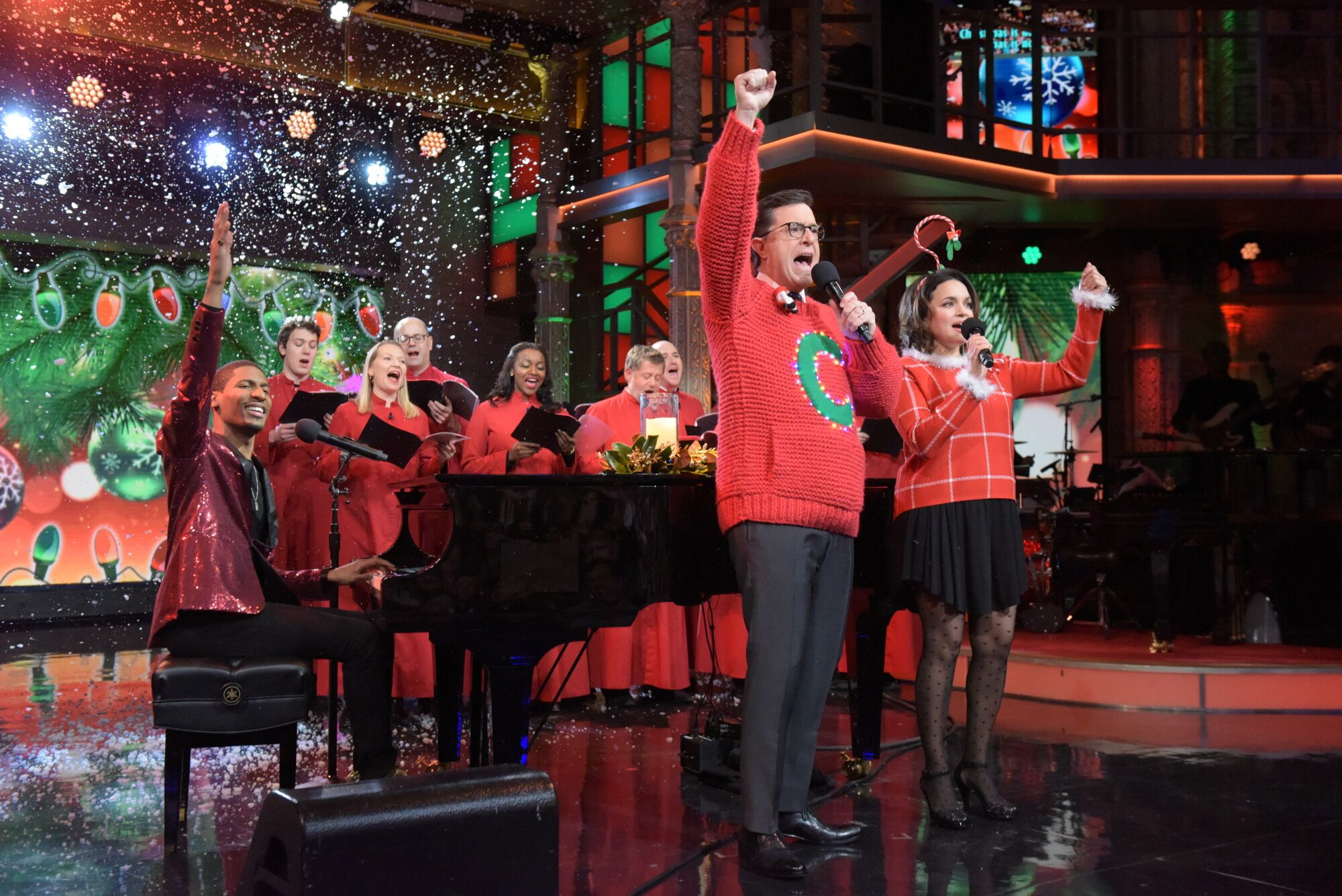A Stephen Colbert Claymation Christmas Special on The Late Show