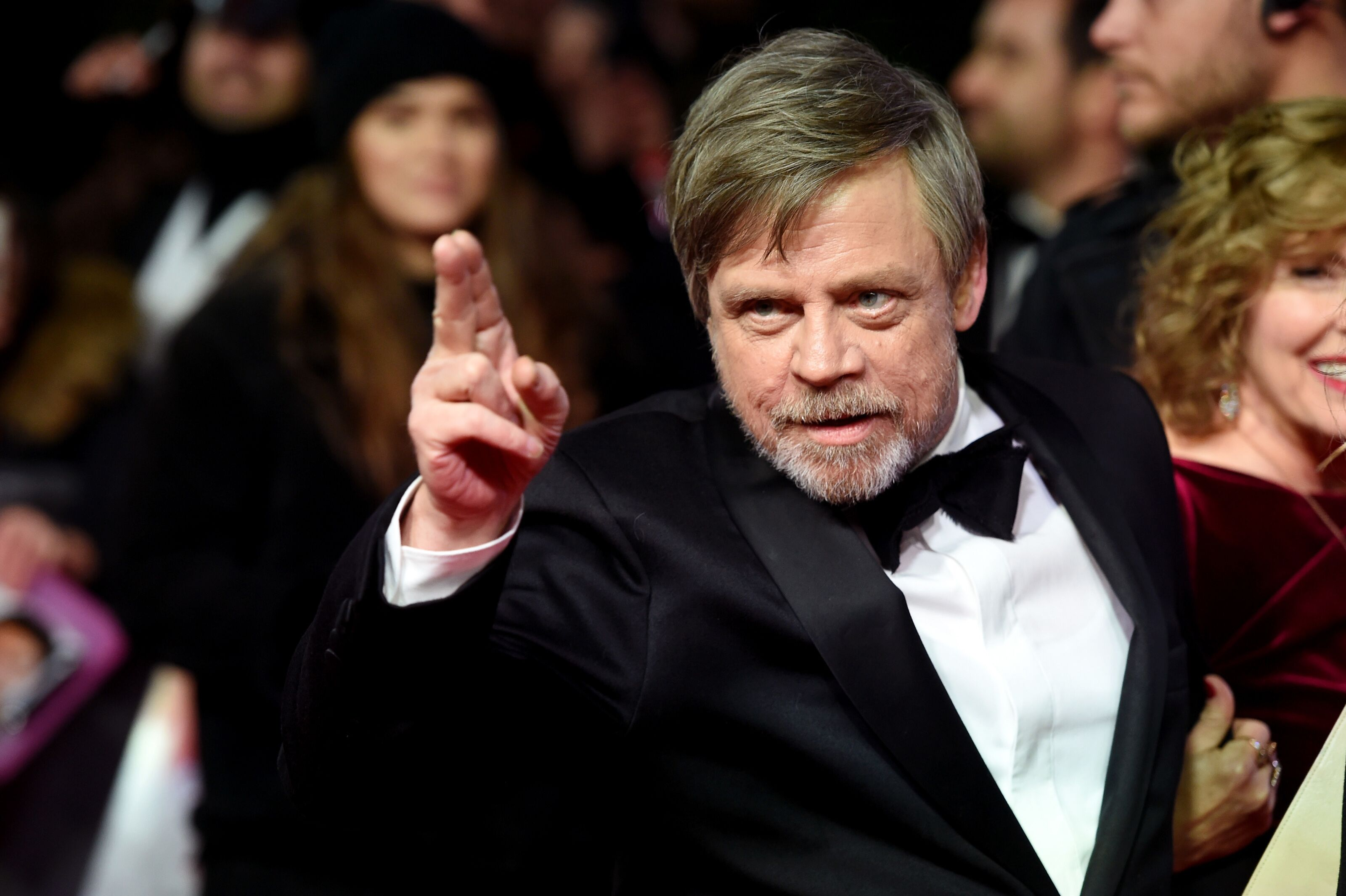 "Mark Hamill wishes his ""son"" Sebastian Stan happy birthday"