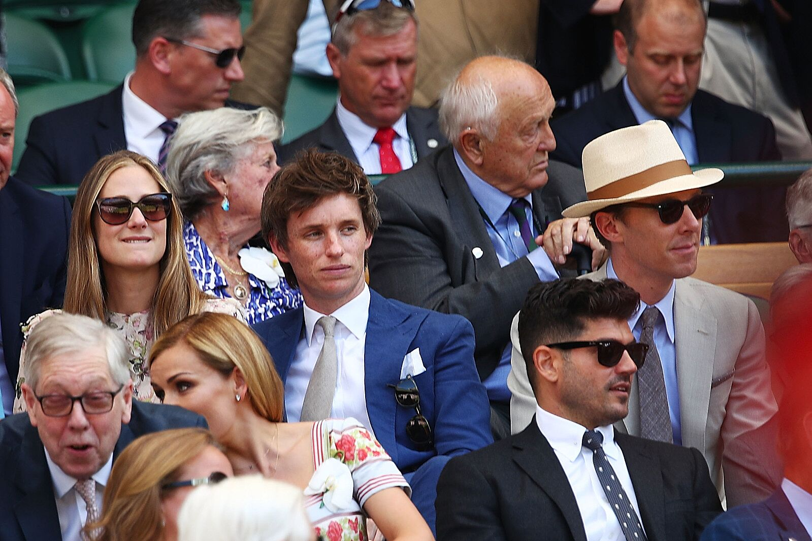 Tom Holland spotted Emma Watson and other celebs at Wimbledon