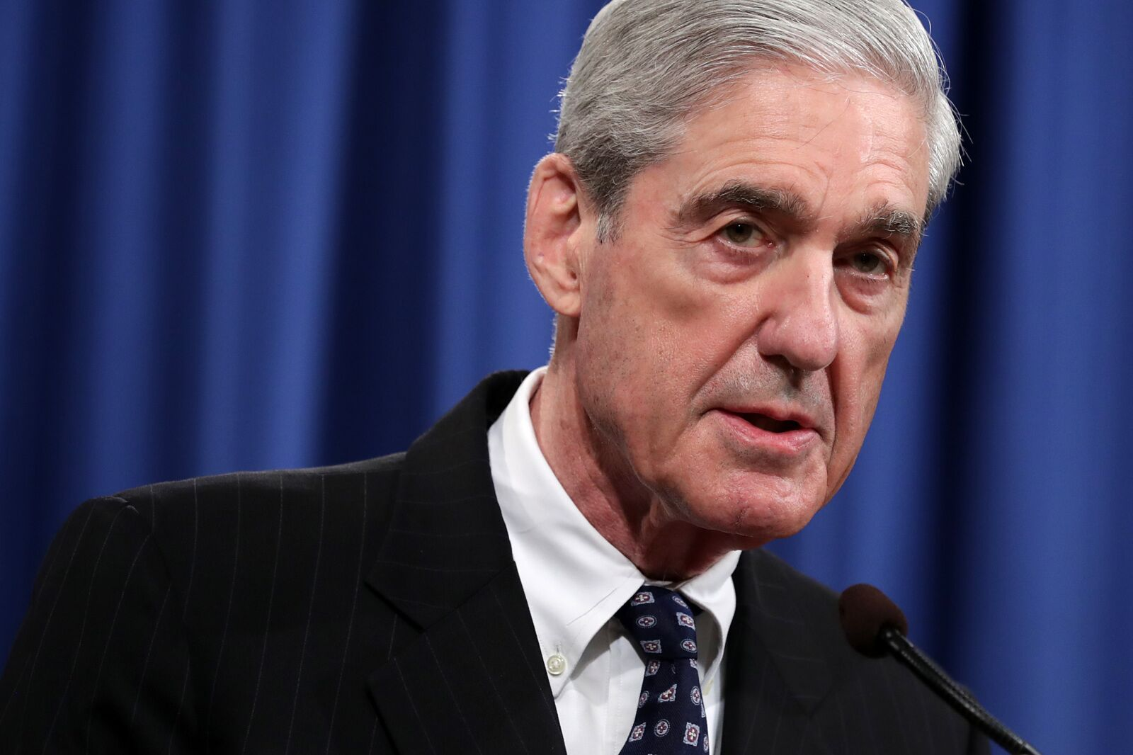 Politics roundup: Mueller talks about his report. Now he wants you to leave him alone.