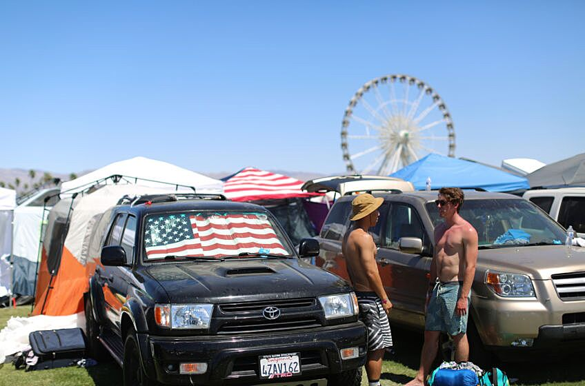 How to make car camping at Coachella more like glamping