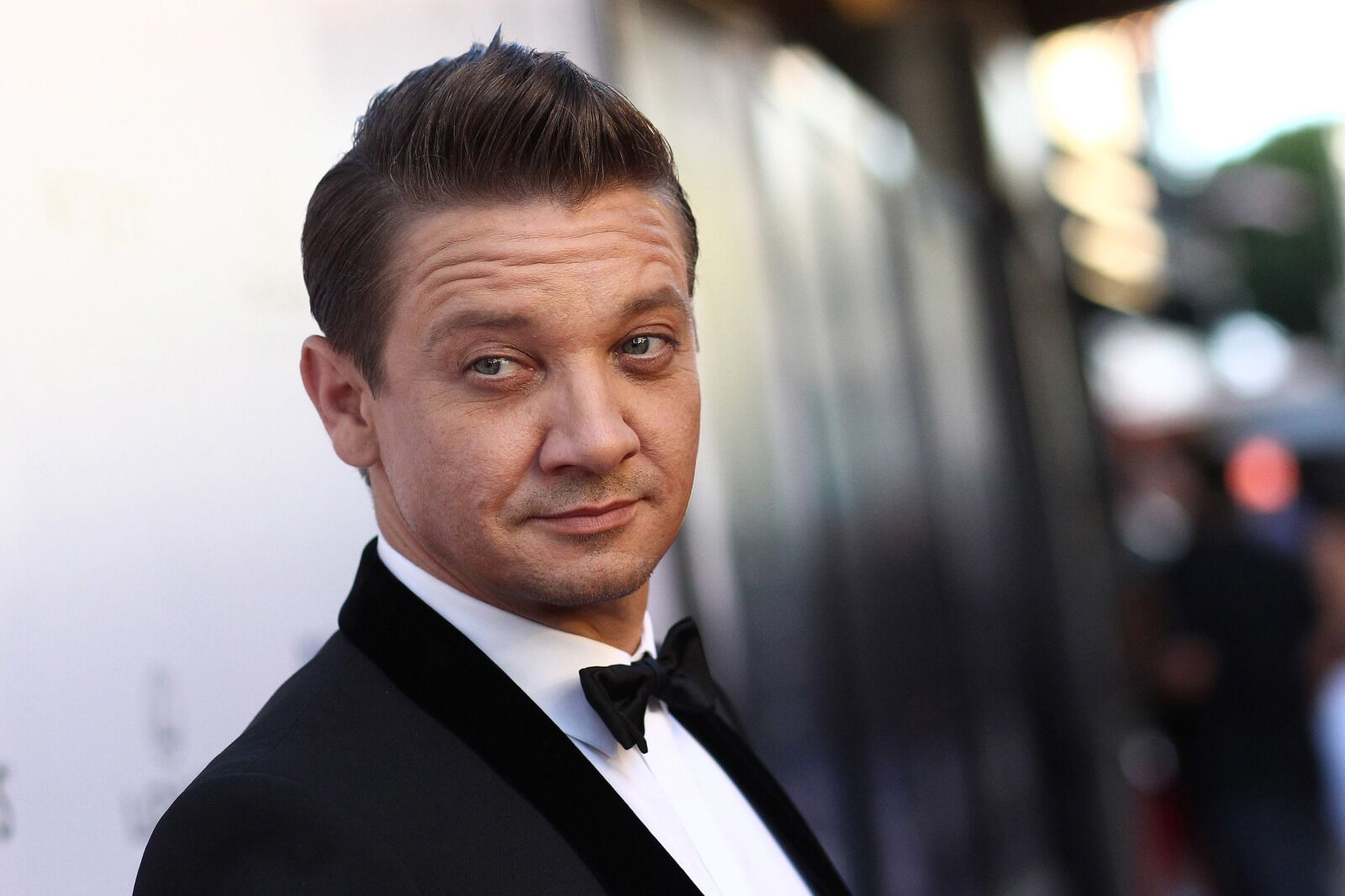 Jeremy Renner appears as one scuffed-up Hawkeye on Instagram