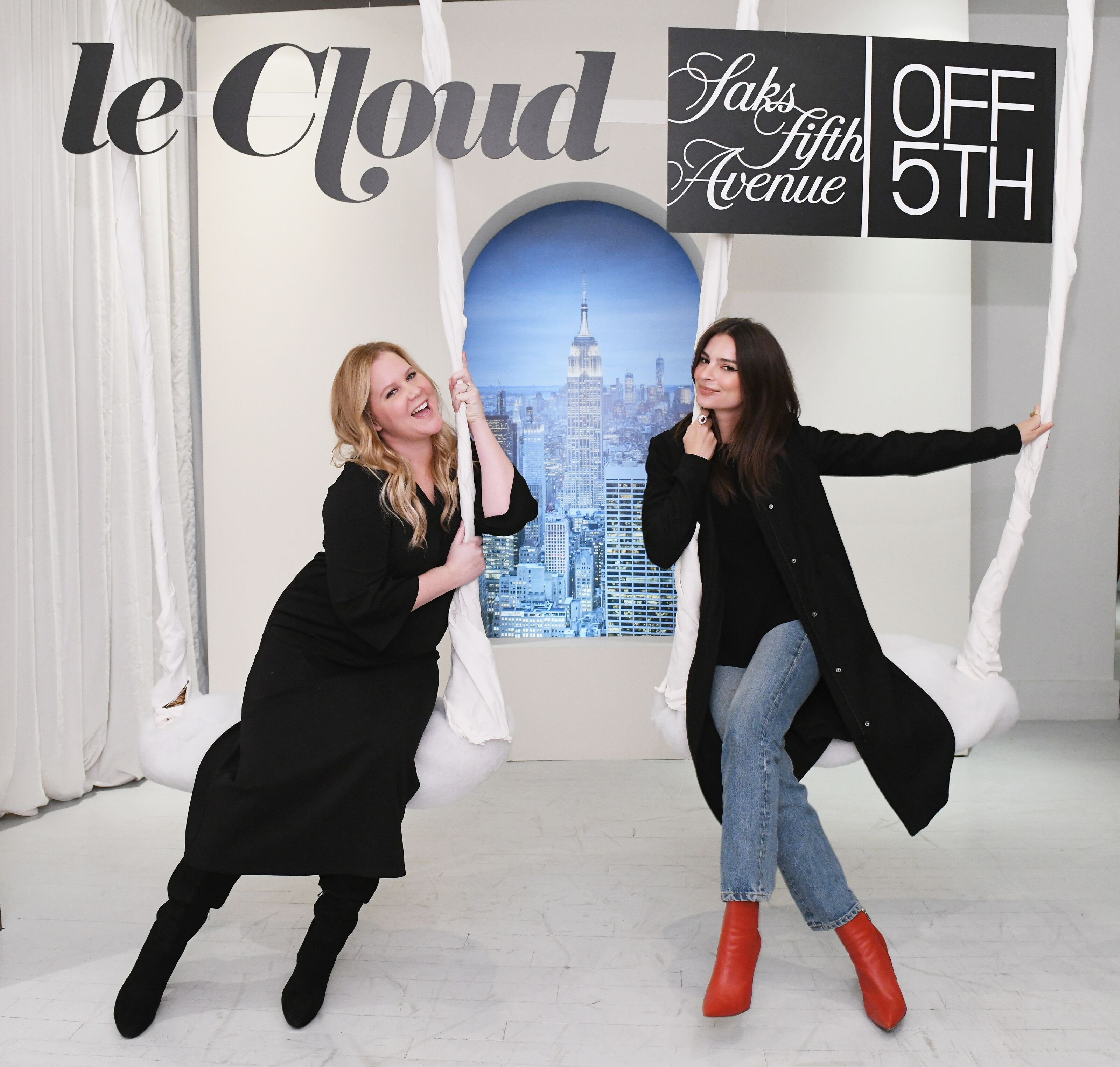 Amy Schumer's Le Cloud collection is bizarre