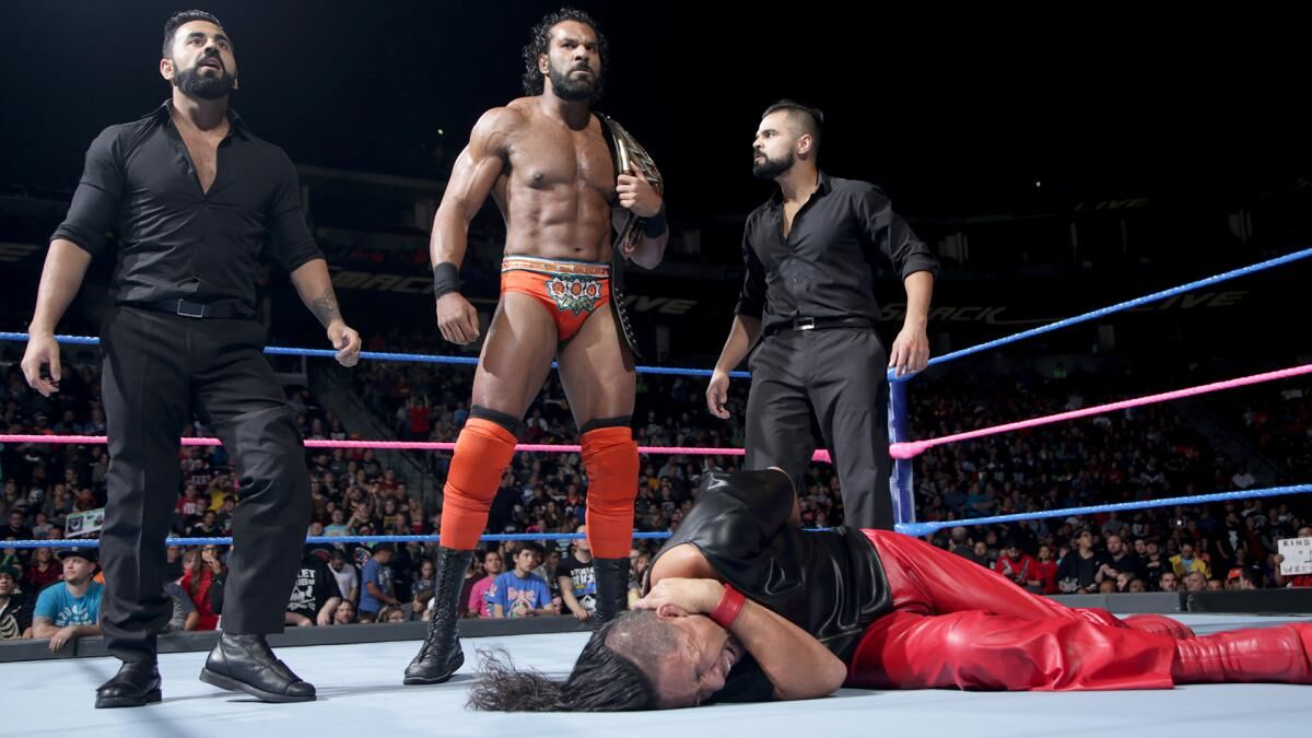 WWE WrestleMania 34: Jinder Mahal Challenges John Cena