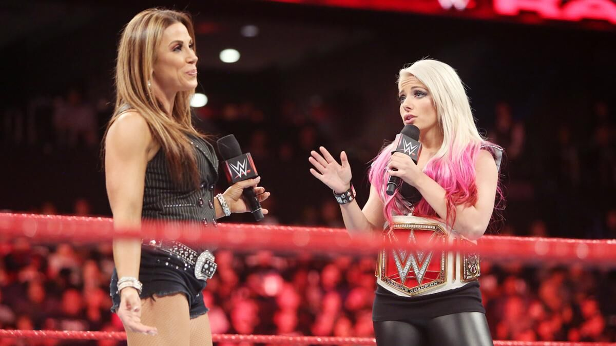Image result for Alexa Bliss and Mickie James