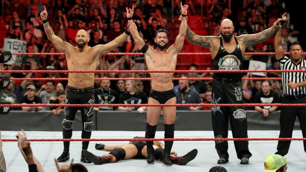 WWE: The next moves with Finn Balor, Karl Anderson and Luke