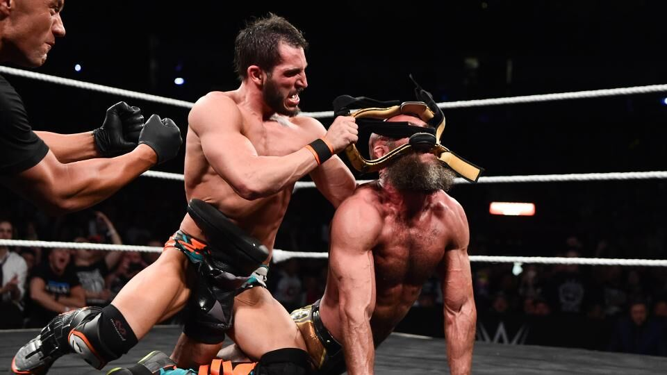 Image result for gargano ciampa crutch