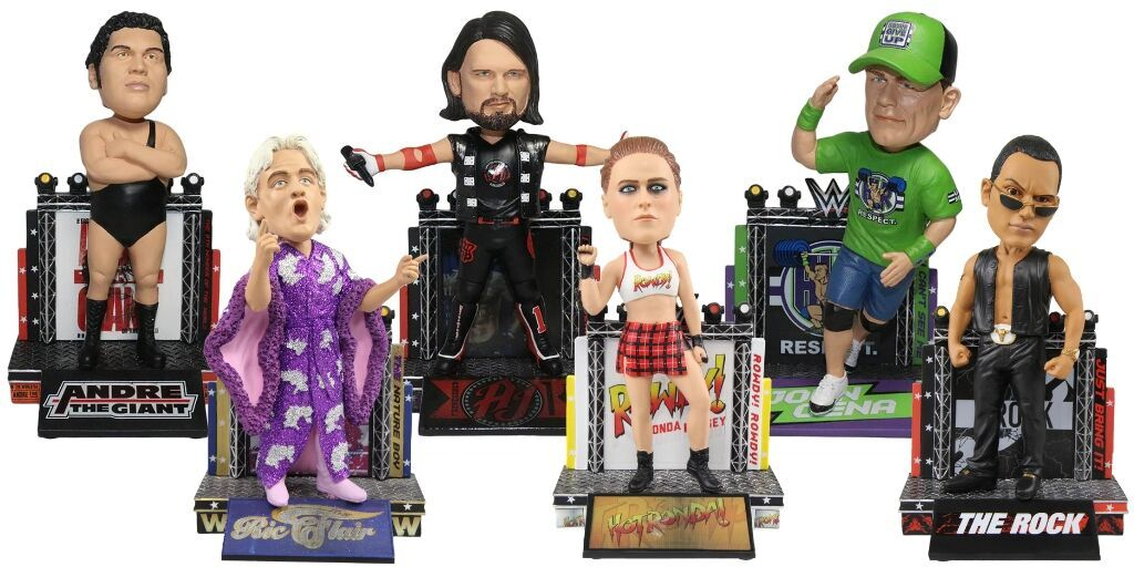 Check out these new WWE bobbleheads