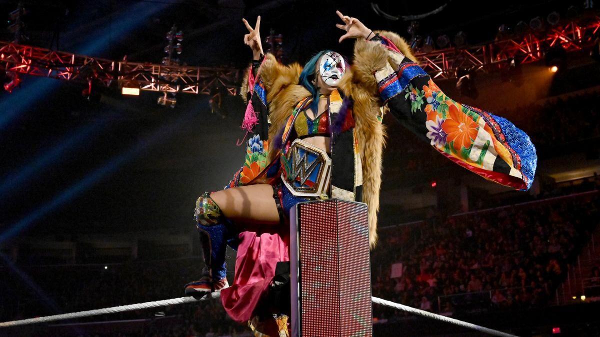 WWE is finally putting Asuka back in the spotlight where she belongs