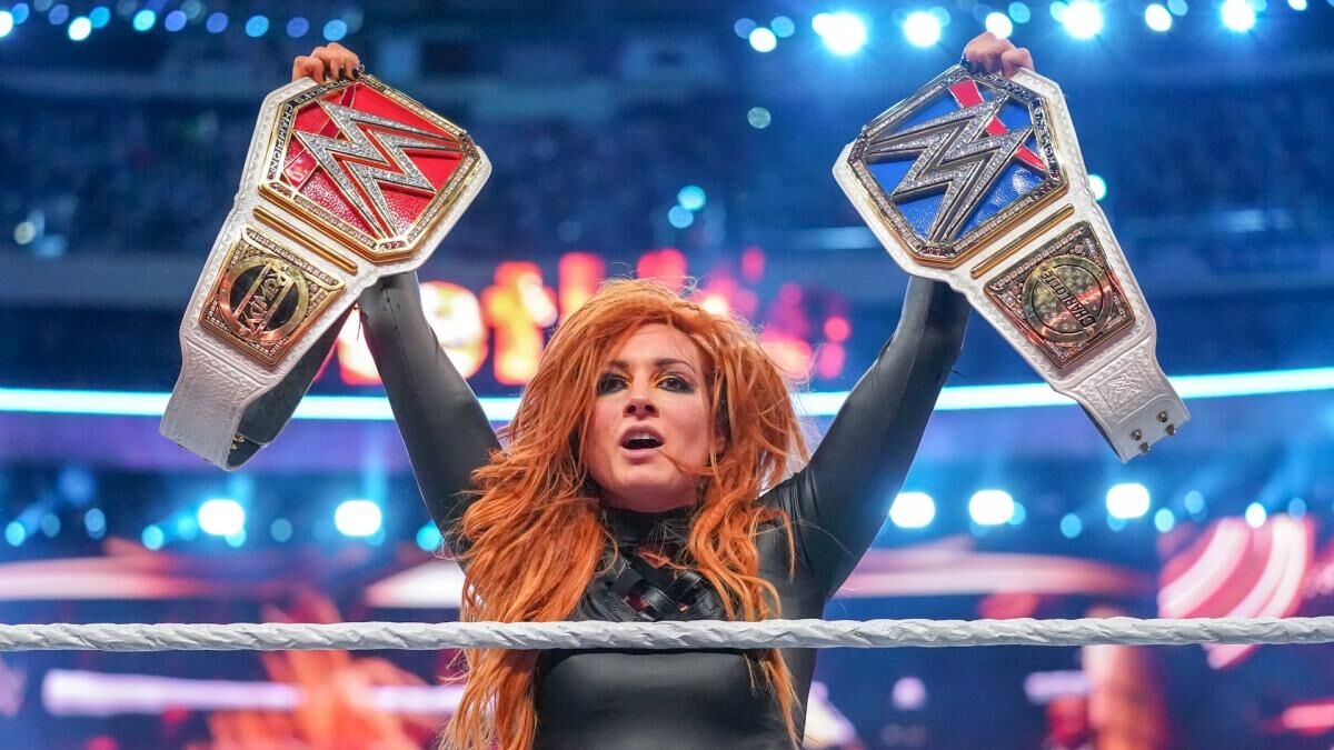 Image result for becky 2 belts