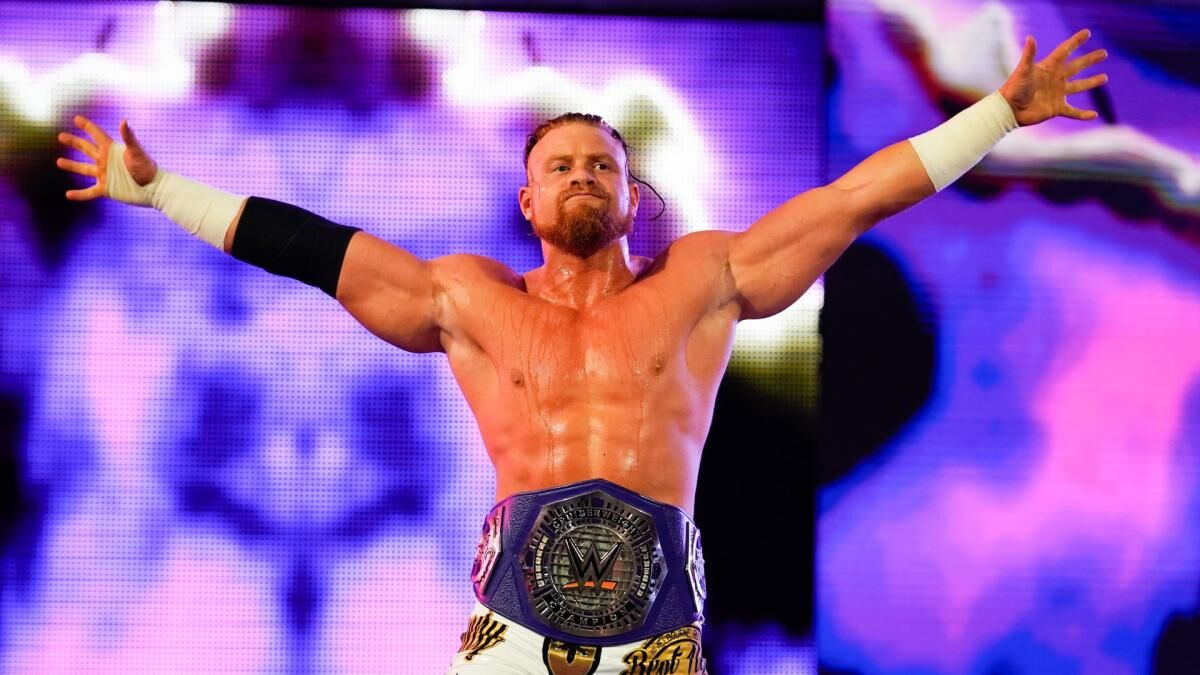 WWE SmackDown Live: Buddy Murphy's stock is rising like crazy