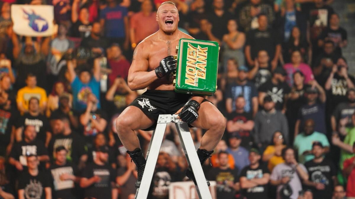 WWE MITB: Brock winning is a slap in the face to the roster